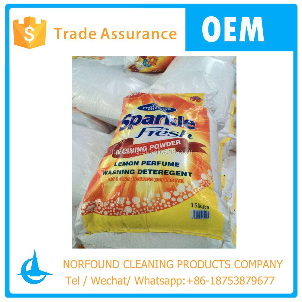 15kg bulk detergent Washing powder Qingdao