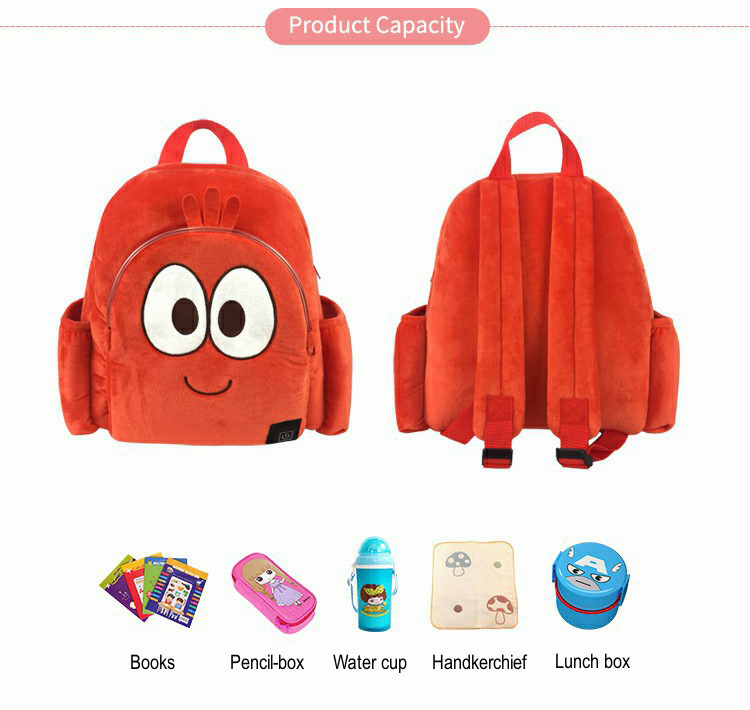 Wholesale new style for children's gifts cute backpack led school backpack