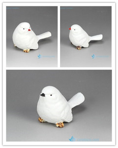 RZHP01/02/03 Cheap price cute crockery birds figurine