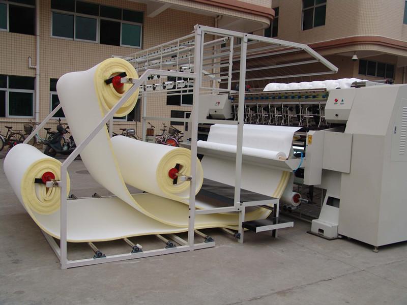 เครื่อง Quilting/จักรเย็บผ้าชายแดนที่นอนหลายเข็ม (ตะเข็บโซ่)