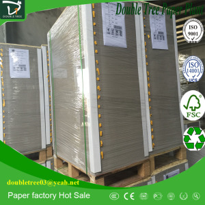 OCC and News Print Recycled Waste Paper for Duplex Board White Clay Coated Grey Back In Stock