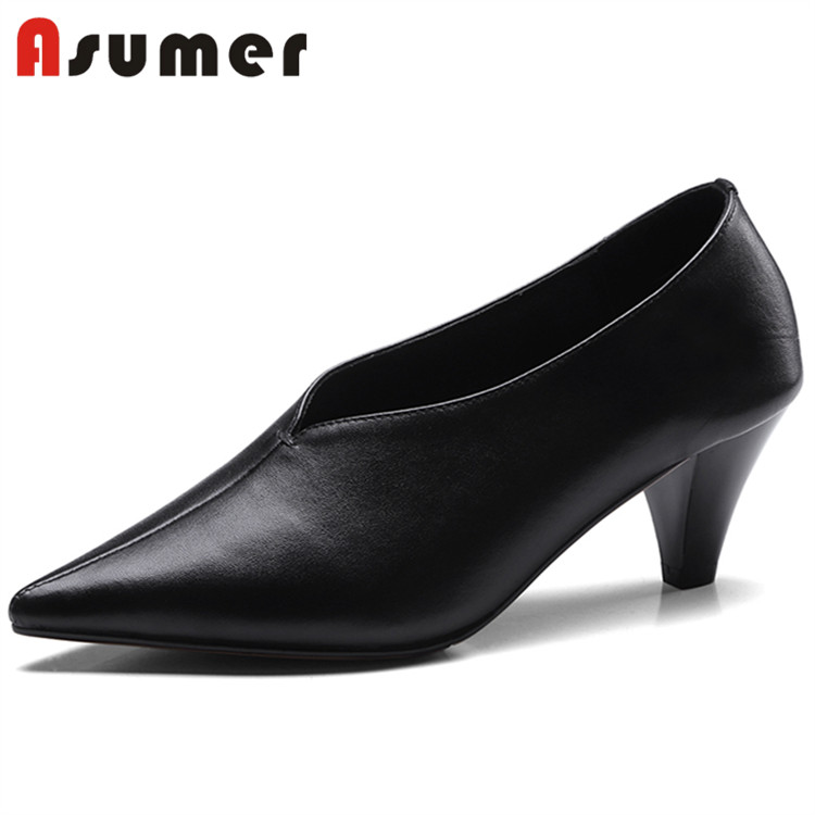 tube wholesale women Asumer heels sexy bulk leather popular high 844TqCFa