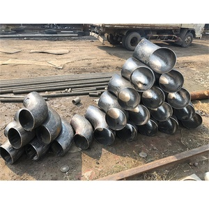 A234 Wpb 90deg Butt Welded Tube steel elbow Alloy pipe fittings
