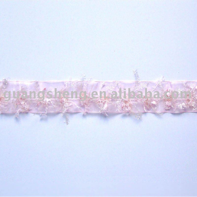 Snowflake Pattern Dreamed Ribbon Lace For Wedding Decoration