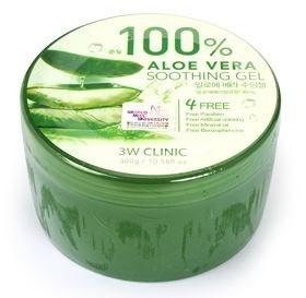 100 percent aloe vera cream