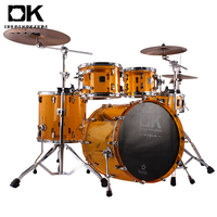 Fashionable patterns set custom drum kits