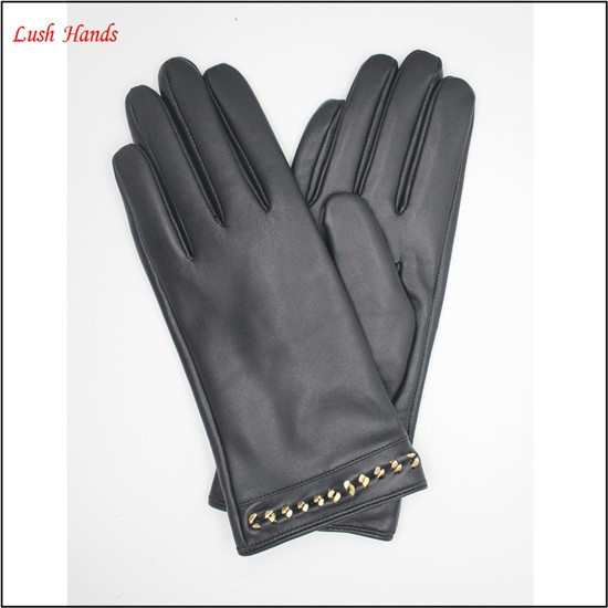 dress custom driving leather gloves ladies