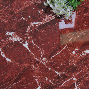 Super Market House Flooring Ping Mall And Interior Tiles Usage Red Marble Feature