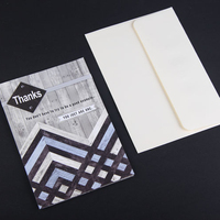 China supplier custom handmade greeting paper card with logo and design
