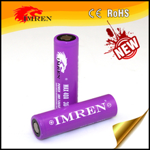 Wholesale/Distributor price for purple IMREN 3000mah high amps 40a 18650 battery for e cigarette