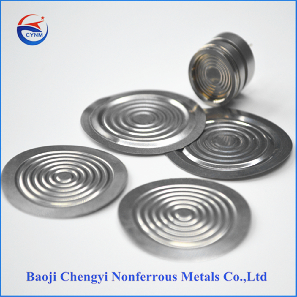 Flat and corrugated metal diaphragms for pressure gauge from China manufacturer