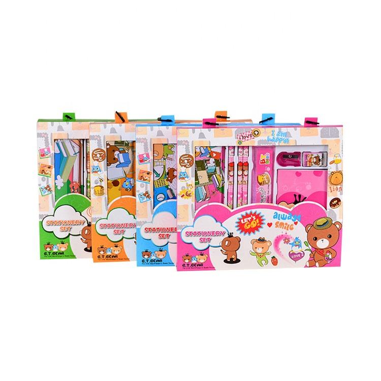 Из завода, дешевая цена, милые школьные детские комплект поставки канцелярских товаров прайс-лист