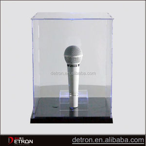 High quality Custom acrylic microphone display