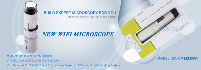 50X-500X microscope wifi with 0.3 Mega pixe SE-CP-MS200XW
