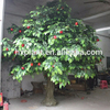 4 meter Fake long time using artificial apple tree with fruit