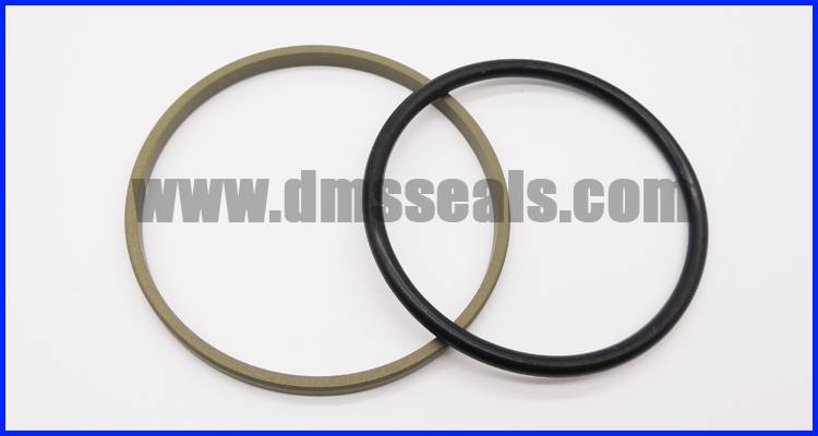 PTFE glyd ring seals and NBR O rings for piston seal GSF
