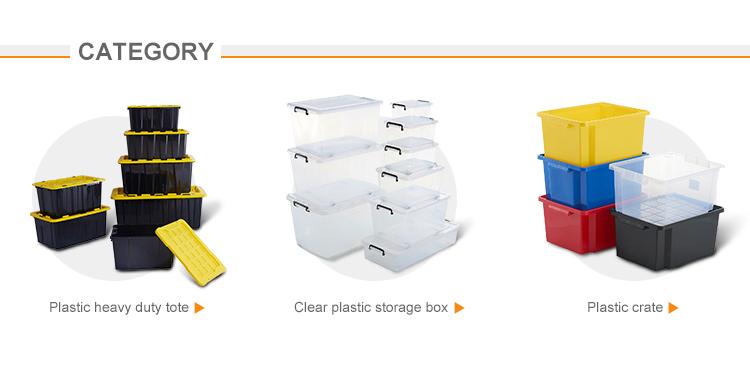 산업 큰 플라스틱 container heavy duty tool storage box