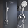 Wall Mounted Bath Shower Faucet with Hand Shower