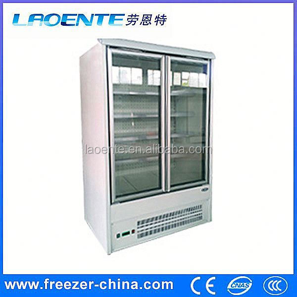 double door sliding door refrigerator locks
