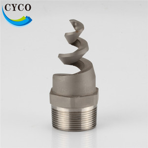 CYCO Flanged Silicone Carbide Spiral Plastic Water Spray Nozzle
