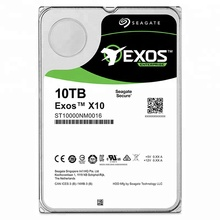10TB HDD Interno 3.5 ''SATA 256MB Seagate Hard Disk Drive per il Server ST10000NM0016