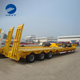 Tri Axle 80-tonLow Bed Truck Semi Trailer Sale Used For Excavetor Transport