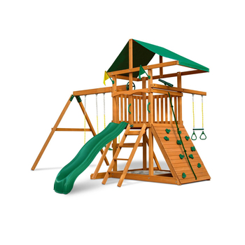 Outdoor Playground Wooden Climbing Frame Play Set