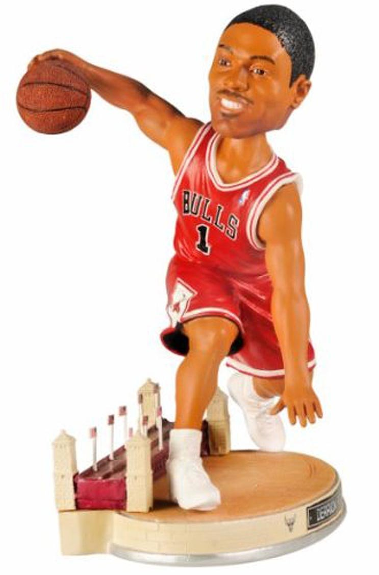 bcd2260ab8c0 Get Quotations · Derrick Rose Chicago Bulls Forever Collectibles NBA City  Collection 10