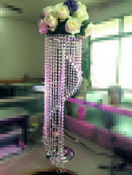 Tall crystal chandelier table top centerpieces for weddings tall crystal chandelier table top centerpieces for weddings decoration junglespirit Choice Image