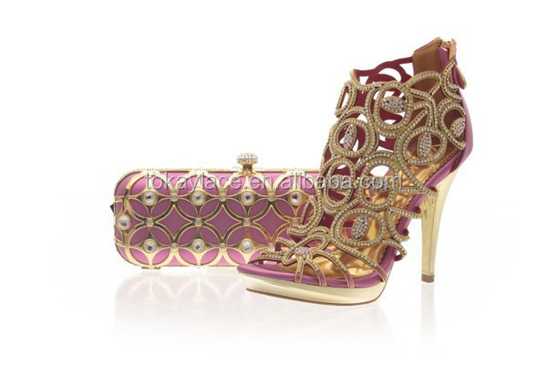 for matching african 2014 bags and pink fashion party shoes 0qaCP