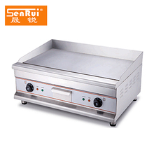 Kitchen Equipment cast iron dosa stainless steel All flat electric meat no-stick commercail griddle with ce