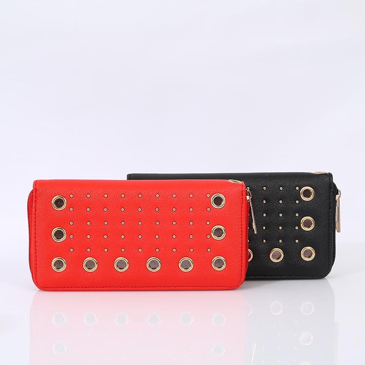 Lady Wallet Handbag PU Leather Cheap Customized Women Wallet
