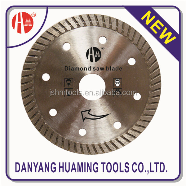 Floor Cutter Concrete Cutter Saw Blades Turbo Diamond Saw Disc Blades