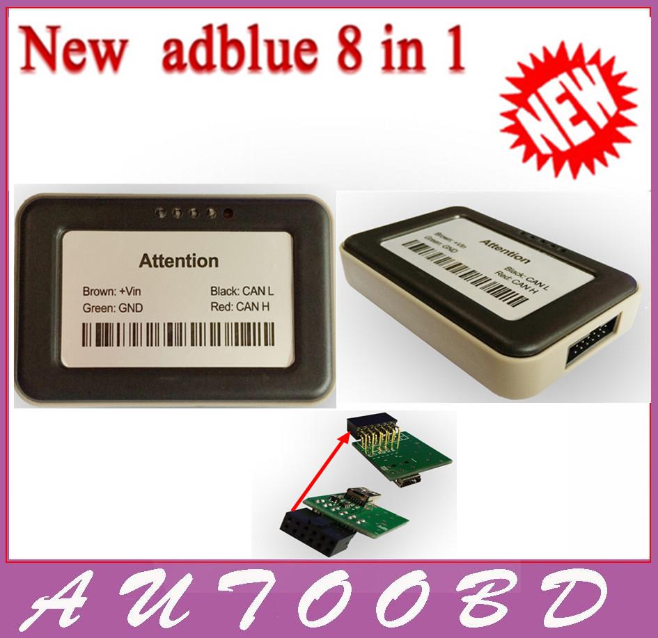 2015 новый грузовик Adblue VD400 V4.1 Adblue эмулятор 8 в 1 с Nox датчик Adblue эмулятор 8in1 грузовик диагностический инструмент бесплатная доставка