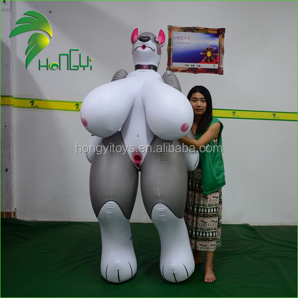 Newest Inflatable Animal Toy With Sph , Huge Breast -4327