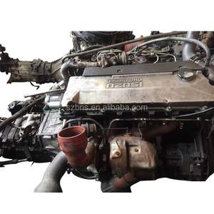 Japanese Car 4HE1 Used Diesel Truck Engine at Reasonable Price for Truck