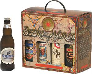 8 Pack Beers from Around the World Gift Box $135.00 per case
