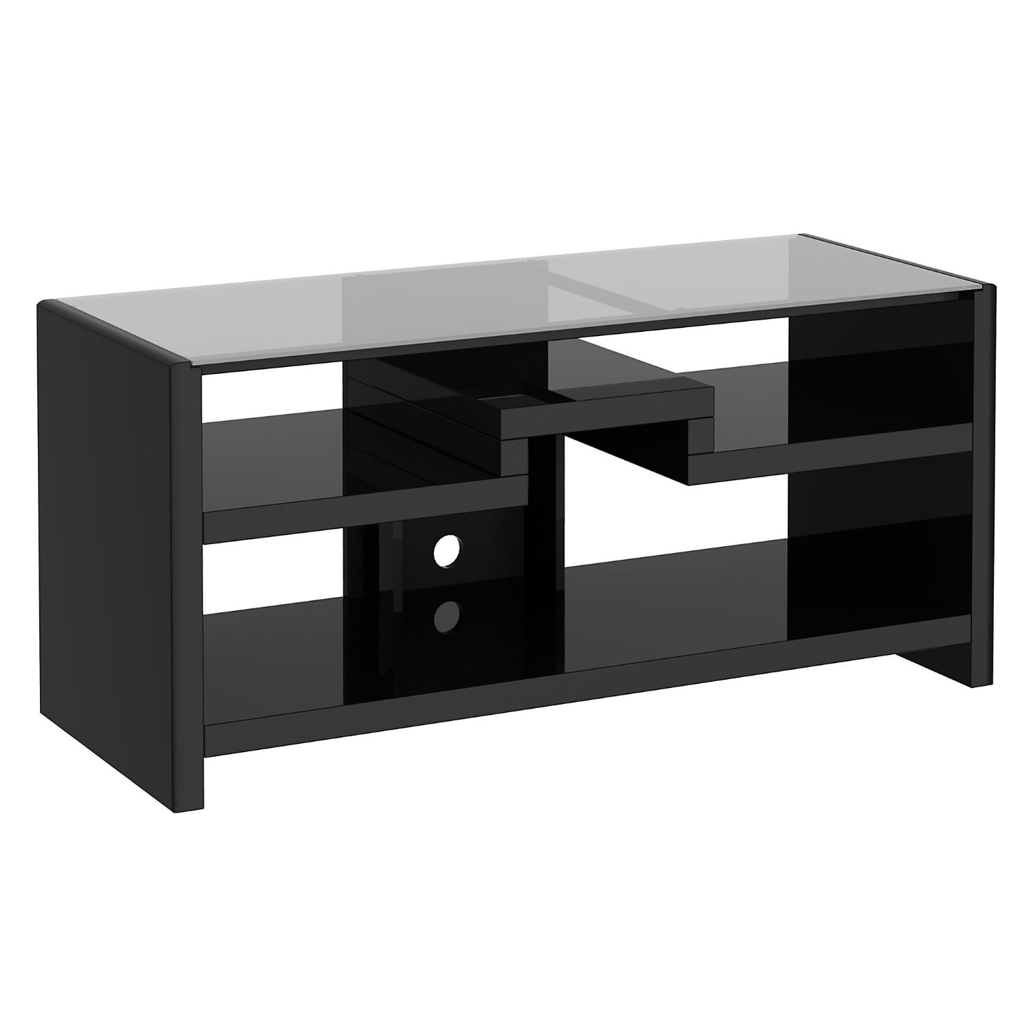 Kathy Ireland Office By Bush Furniture Gaming Center   TV Stand, Modern  Mocha