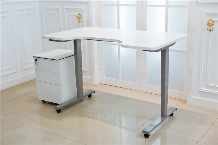 Modern electric standing desk height adjustable table leg for Motorized standing desk legs