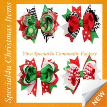 Hot sale wholesale holiday halloween thanksgiving christmas hair bows SYCI-026