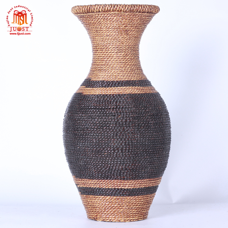 New Arrival Customized Round Shape Modern Style Pink Vase