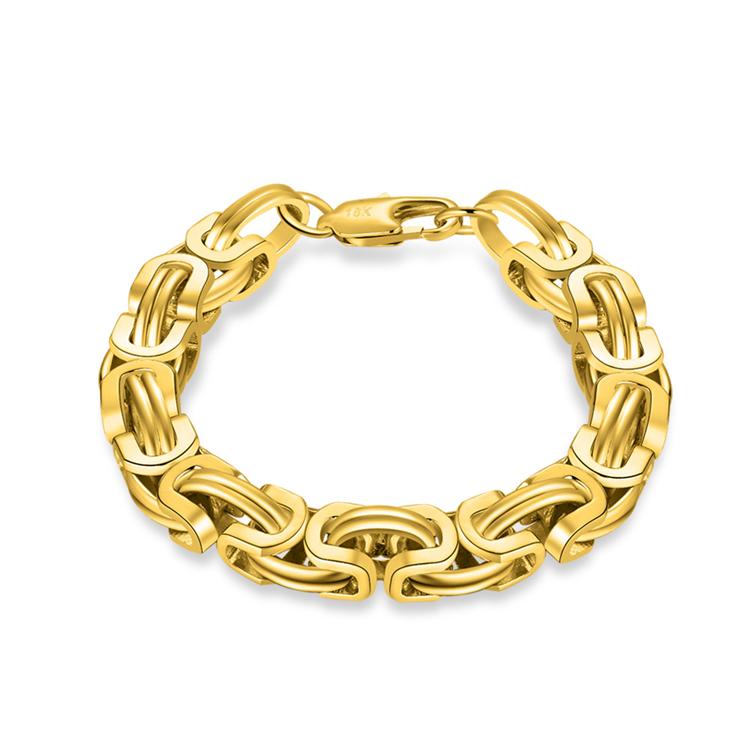 سعر المصنع الأكثر مبيعاً في 2018 سوار نحاسي مطلي بالذهب عيار 18