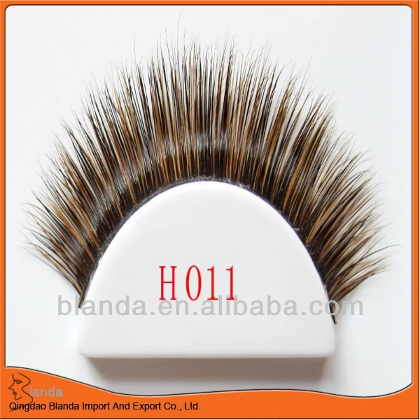 Hand made strip fur real Mink Eyelash high quality new arrive charming belle false eyelash