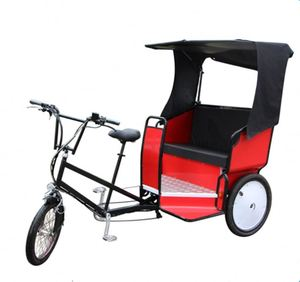 Factory Supply Pedal Rickshaw Passenger Tricycle With Cheap Price