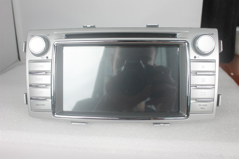 KLYDE 2din Android 4.4.4 system <strong>car</strong> dvd player <strong>TOYOTA</strong> Hilux 2012 with capacitive multi-touch screen