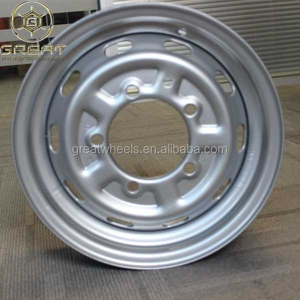 Steel Wheel Rims 13x4 Wheels For Light Truck 13x4.5,14x4.5,14x5 ...