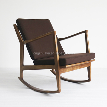 Danish Design Rocking Chair Classic Chair Wooden Chair Designs