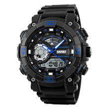 Skmei most popular Japan movement 5ATM depth water resistant analog digital sport watch