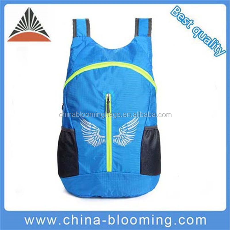 New Waterproof Nylon Lightweight Custom Hiking Backpack For Unisex