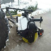 high power agricultural tractor front mounted Snow sweeper